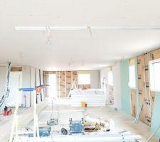 Pose isolation et plafond