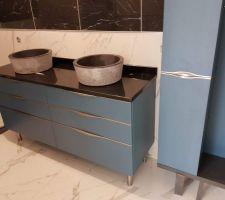 Les meubles de Paolo pour la SdE du RDC