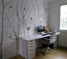 Bureau IKEA Alex Linnmon