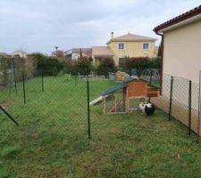 Enclos + poulettes
