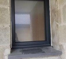 Fenêtre salle d'eau