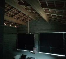 La charpente traditionnelle du garage <3