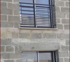 Garde corps fenêtre chambre