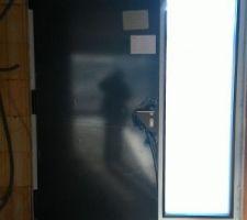 Intérieur porte d'entrée.