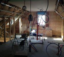 Isolation et plafond placo