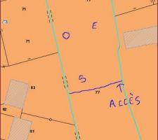 Plan terrain nouveau projet
