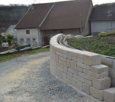 Attente pour intégration escalier accès terrasse