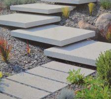 Modèle escalier accès terrasse