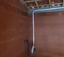 Circuit frigorifique du chauffe eau thermodynamique.