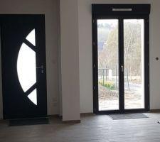 Peinture fini et protections fenêtres enlevés