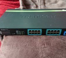 Switch 16 ports poe