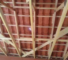 La toiture terminée