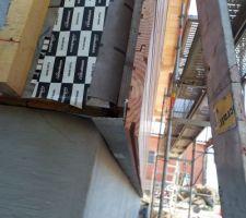 Détail de la grille anti-rongeur sous le bardage