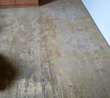 Ancien plancher.