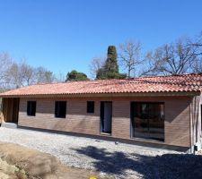 construction maison ossature bois dans le gers