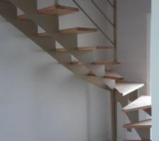 Escalier posé .... enfin