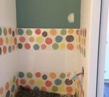 Pose de la faïence WC principal