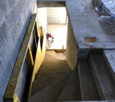 Escalier du RDC au R+1