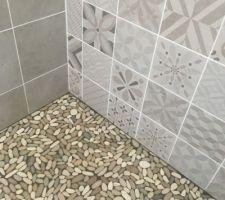 Faïence Salle de bain 1 terminée !