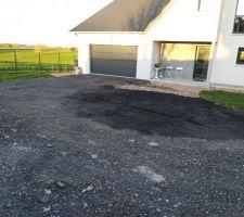 Agrandissement du parking bientôt terminé