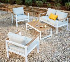Idée nouveau salon de jardin (gifi madrid)