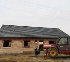 Nous avons un toit !!!