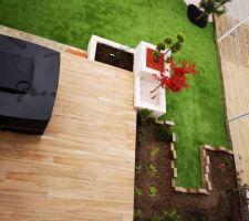 Vue d'ensemble jardin