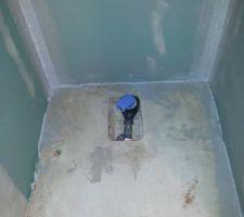 Réalisation de la douche: SPEC - protection sous carrelage
