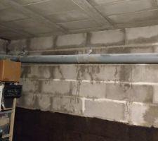 Infiltrations d'eau en sous-sol