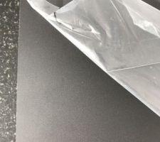 Sous-face en Trespa : Metropolis Black Diffuse