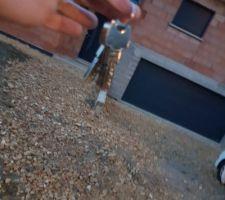 Enfin les clés !!!