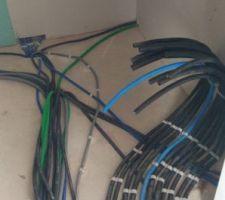 Cables etage