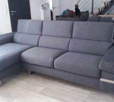 Nouveau canapé de chez Poltrone sofa - modèle Luminasio