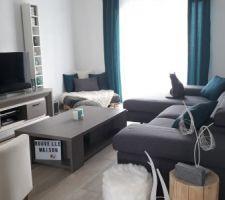 Quelques changements dans la maison : nouveau canapé, nouvelles housses de chaises