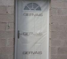 Pose des fenêtres et de la porte