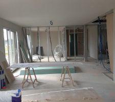 Salon et chambre 1 au fond