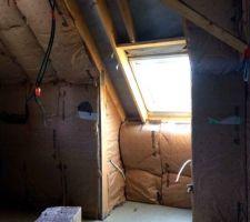 Placo et isolation étage 10-04-19