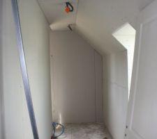 Cloison étage au 12-04