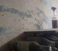 Effritement mur garage