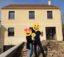 15/04/2019: à nous la maison!