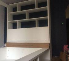 Installation de la chambre en cours