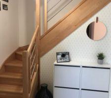 Escaliers vitrifiés