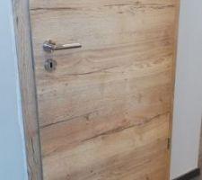 Choix des portes intérieures avec poignée inox noire