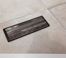 Carrelage sol et mur WC avec mosaïque WC