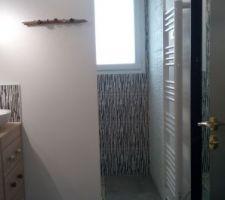 Salle d'eau terminée