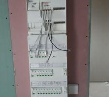 Tableau électrique et tableau de communication