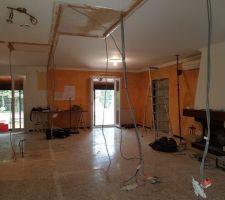Debut de la demolition jour 1