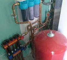 Cuve EDP / filtration / pompage