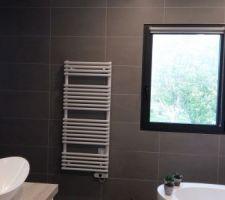 Aperçu du carrelage de la salle de bains