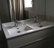 Meuble double vasque - Salle de bain enfant Castorama